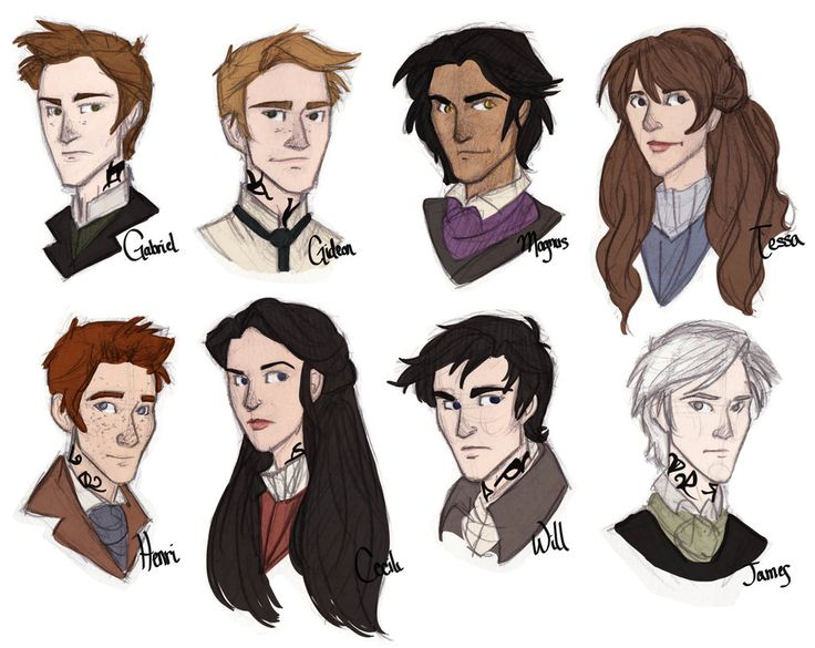Clockwork Princess Characters by emmilinne.deviantart.com on @deviantART