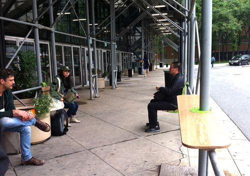 Softwalks Turns Sidewalk Sheds Into Mini Pedestrian Plazas