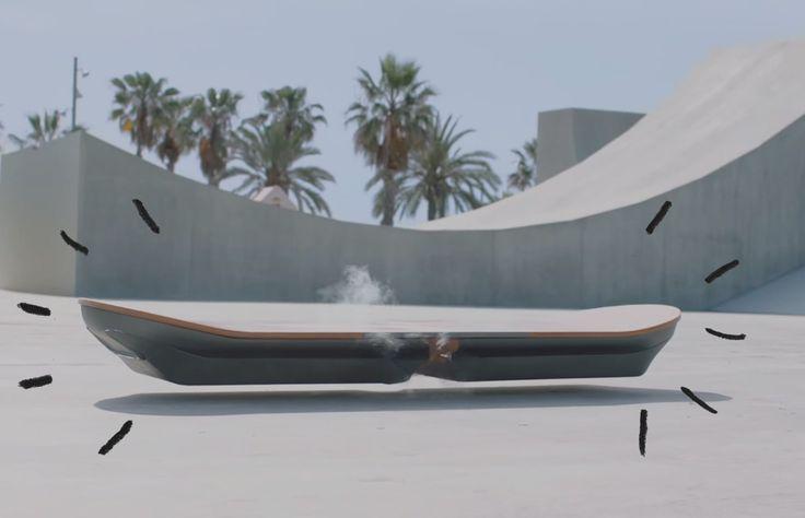 El futuro está aquí. Pronto podrás transportarte por las calles a 20 centímetros del suelo, como lo hacía Marty McFly en la película Volver al Futuro.