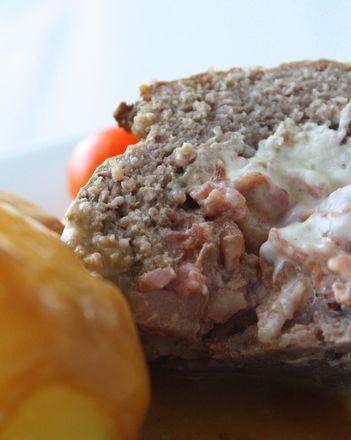 Köttfärslimpa med ost och bacon - Jennys Matblogg