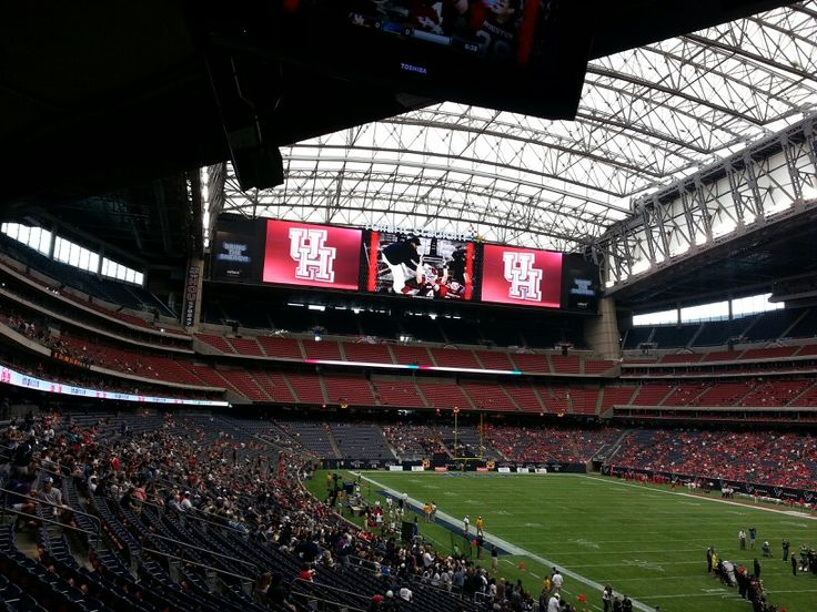 UH v Rice at Reliant Stadium (before game) Reliant