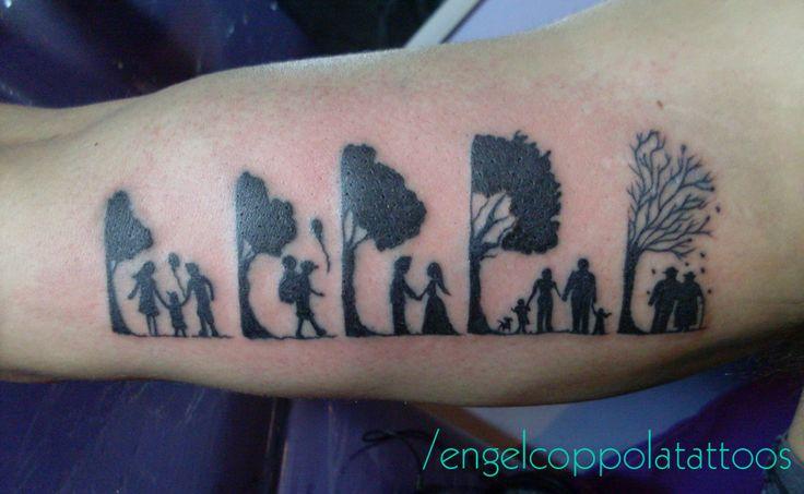 #tattoo #tattoowork #blackwork #life #growingOld #tree #treeoflife
