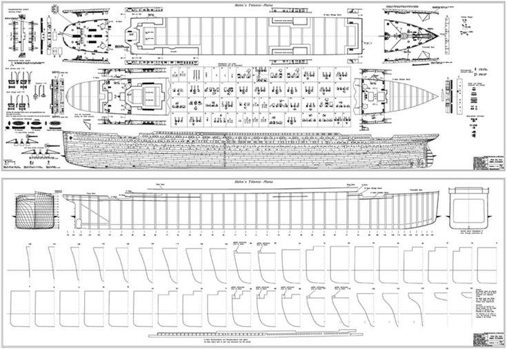 titanic model plans | Titanic model, Titanic ship, Boat plans