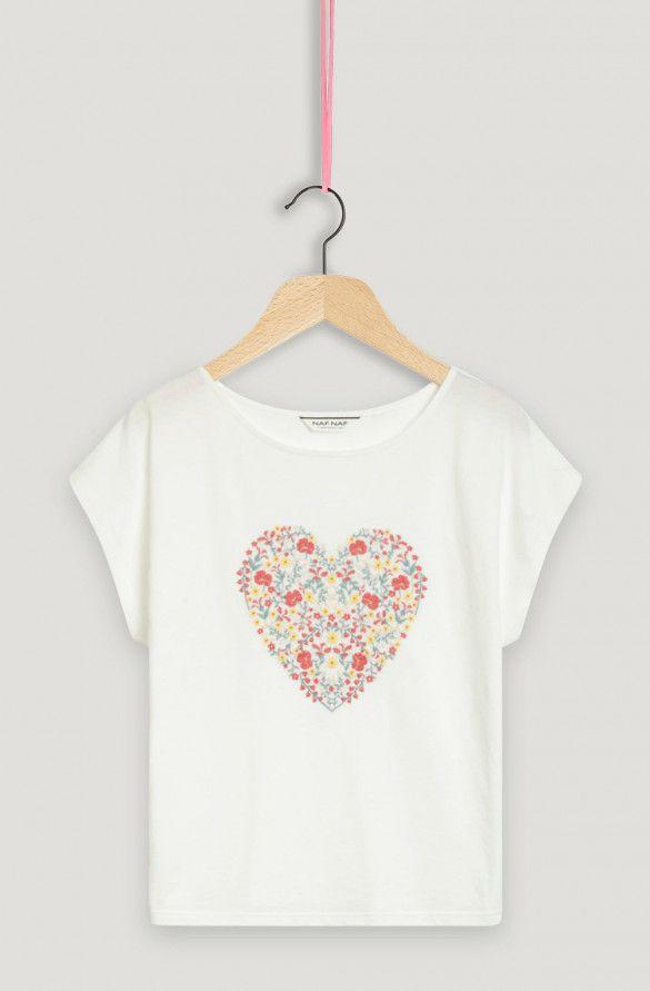 Naf Naf Olake ML T-Shirt Femme