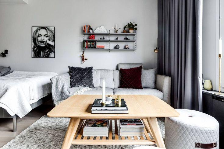 Salle à manger studio : aménager coin repas dans petit espace | Interieur maison, Meuble et Coin ...
