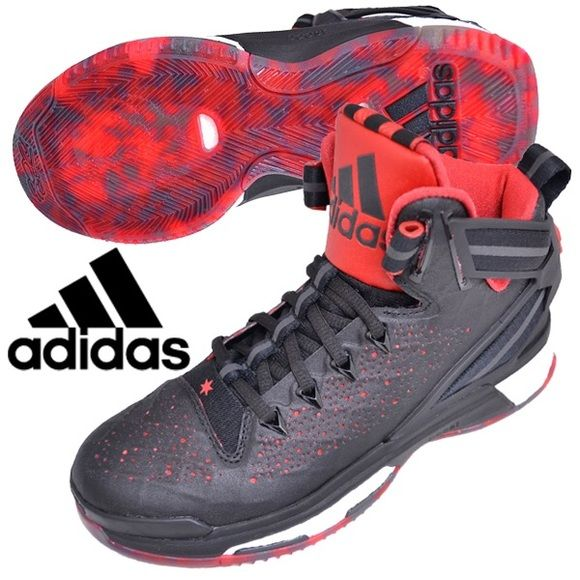 adidas D Rose 6 Boost J Junior Basketball Shoe sz4 adidas D Rose 6 Boost J Junior shoe in size 4. Youth/Big kids sizing but equivalent to a women's 5 •Derrick Rose and adidas. Brand new in box, never even tried on. Basketball shoe Adidas Shoes Athletic Shoes