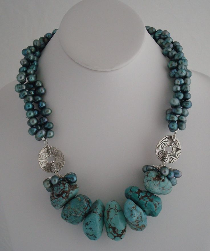 Turquoise & Pearls