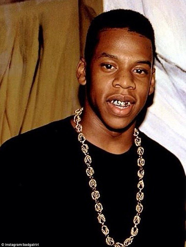 The 25 best young jay z ideas on pinterest jay z jay z music laughing with the birthday boy rihanna uploaded a throwback photo of jay z in celebration malvernweather Image collections