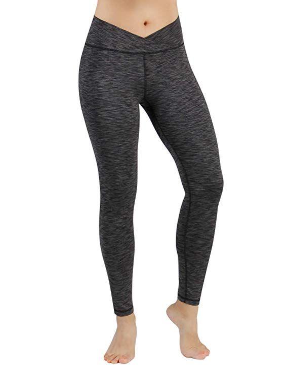 24520c3475da1 Amazon.com: ODODOS Power Flex Yoga Pants Tummy Control Workout Non ...