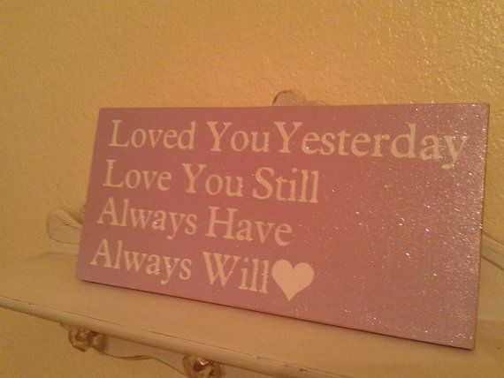 Baby/Kids Bedroom Sign by ShabbyChicBoutique12 on Etsy, $10.00