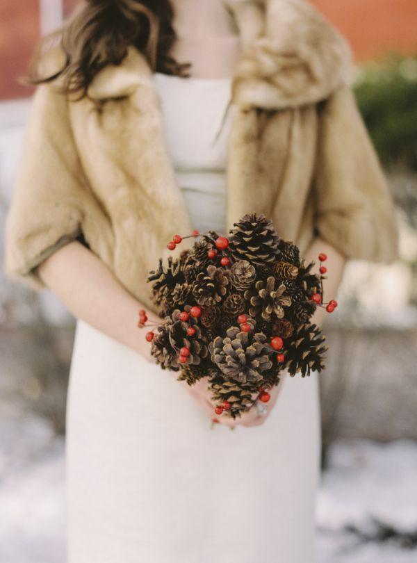 Holiday Rustic Barn Wedding in Alberta