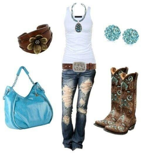 Country girl outfit....supppeerrrr cutee!