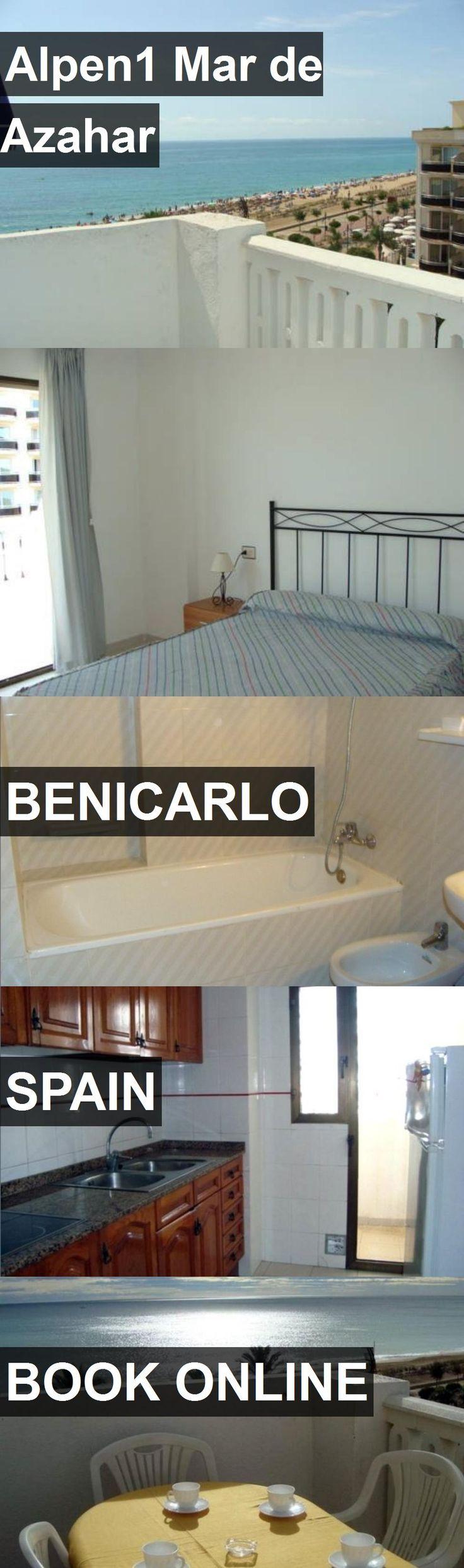 Hotel Alpen1 Mar de Azahar in Benicarlo, Spain. For more information, photos, reviews and best prices please follow the link. #Spain #Benicarlo #Alpen1MardeAzahar #hotel #travel #vacation