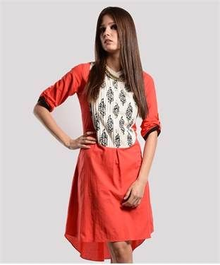 Cotton Tunic | I found an amazing deal at fashionandyou.com and I bet you'll love it too. Check it out!