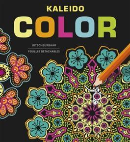 Kleurboek voor volwassenen Kaleido color. Ik vind dit het mooiste kleurboek dat ik heb. De kleuren komen erg mooi uit door de zwarte achtergronden. #kleurenvoorvolwassenen #spon #kleurboek
