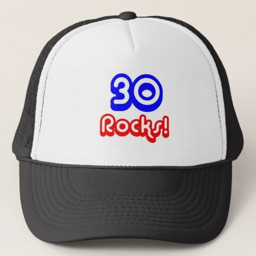 30 Rocks Birthday Trucker Hat