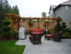 backyard design: Privacy Fence, Spaces, Backyard Ideas, Backyard Landscaping, Privacy Screens, Backyard Landscape, Backyard Design, Side Yard, Patio Ideas