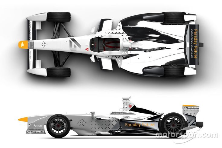 Dragon Racing Faraday Future Concept Livery With Images