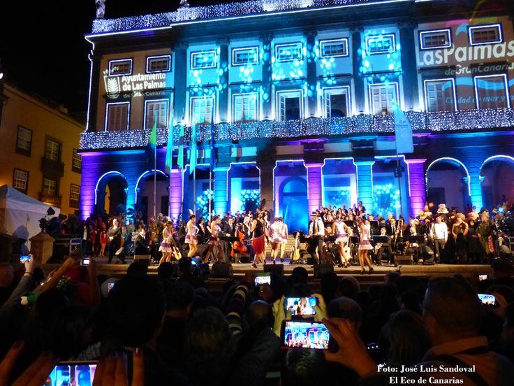 Fotos del pregón del Carnaval de Las Palmas de Gran Canaria 2016  Efecto Pasillo