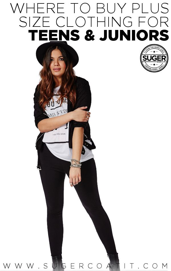 Where to buy plus size clothes for teens. I've shopped at Torrid and Forever 21 Plus and I have to say I love their clothes. I've also checked out RebDolls, they've got some cool edgy clothes.