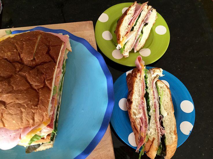 King's Hawaiian Bread Sandwich