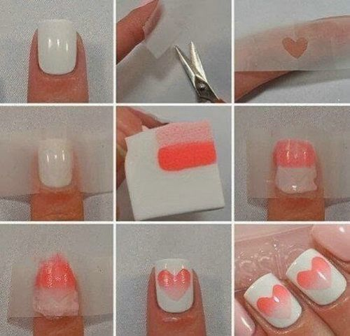 cool nail art ideas for short nails - Google Search...