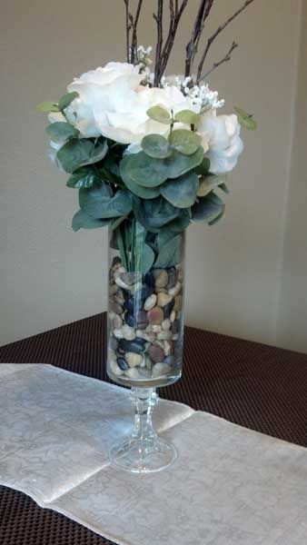 Elegant Wedding Reception Ideas Diy $5 Elegant Dollar Store Centerpiece Tutorial | Flower