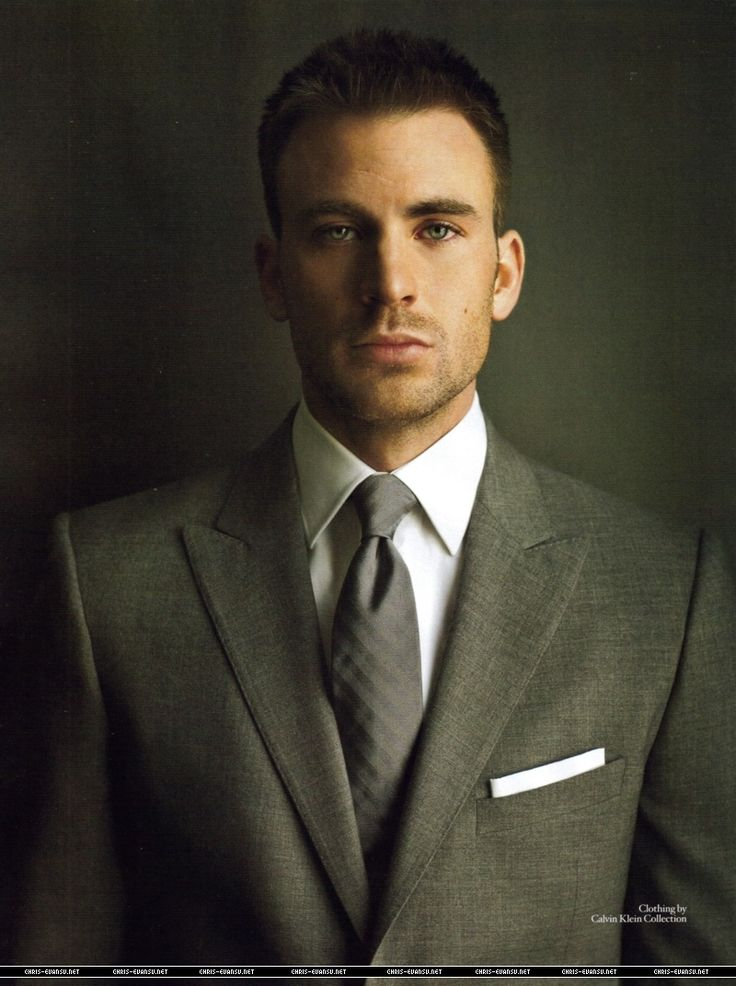 Chris Evans - future husband.