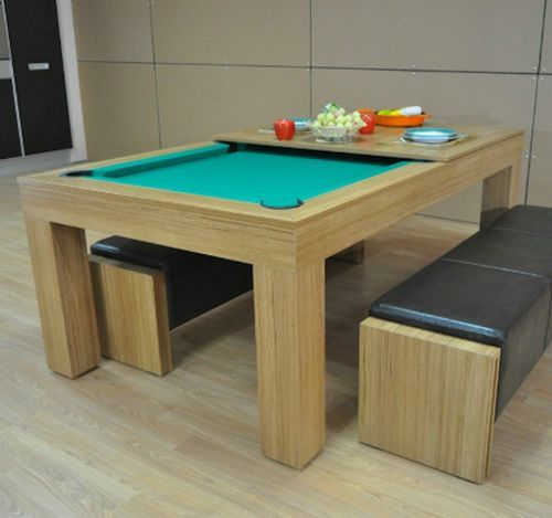 Small Pool Table Dining Table