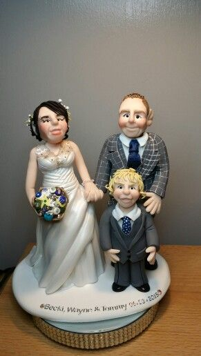 Wedding topper - Cotswold Characters