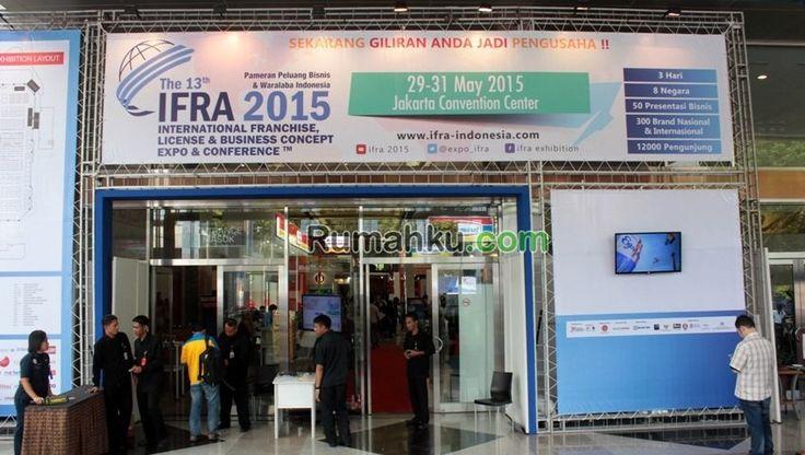 IFRA 2015 Resmi Dibuka Hari Ini | 29/05/2015 | Untuk ke-13 kalinya pameran waralababerskala internasional bertajuk International Franchise, License & Business Concept Expo Conference (IFRA) digelar. Berlangsung mulai hari ini 29 Mei hingga 31 Mei ... http://propertidata.com/berita/ifra-2015-resmi-dibuka-hari-ini/ #properti #jakarta