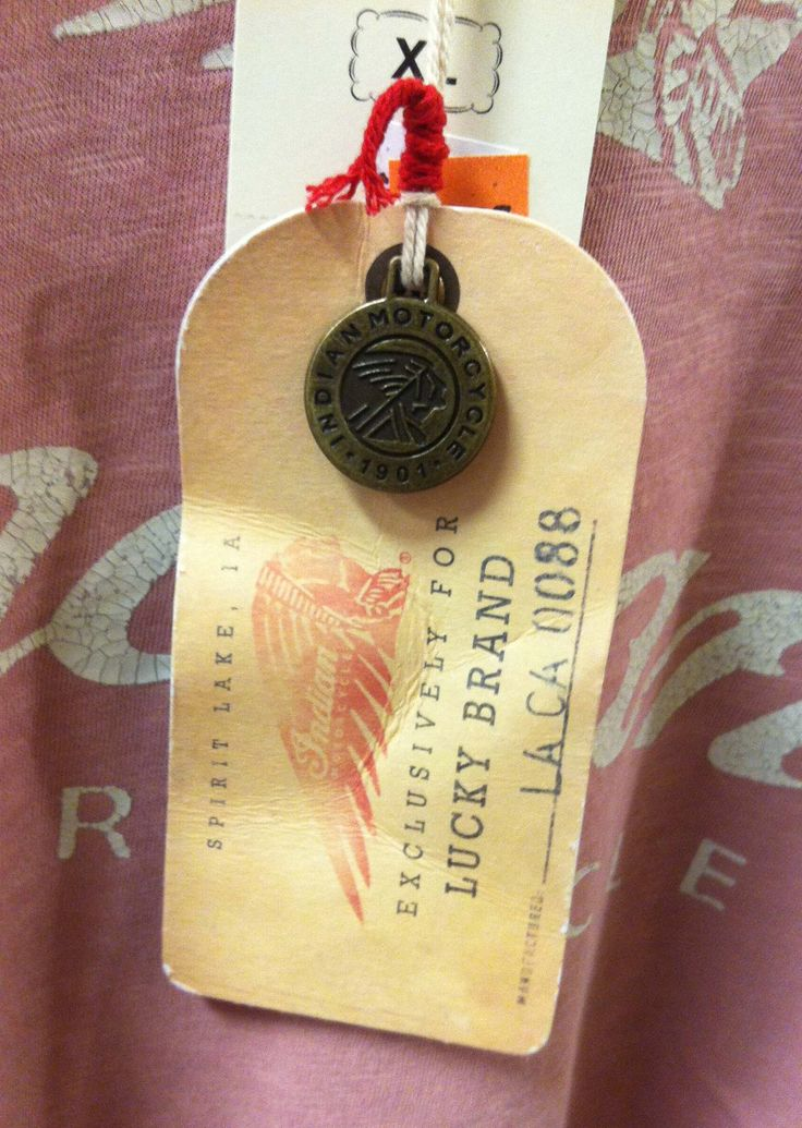 Lucky Brand Hangtag Front