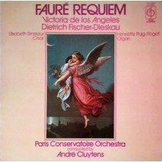 Faure Requiem by Victoria De Los Angeles/Dietrich Fischer-Dieskau/Paris Conservatoire Orchestra/Andre Cluytens from Classics For Pleasure (CFP 40234)
