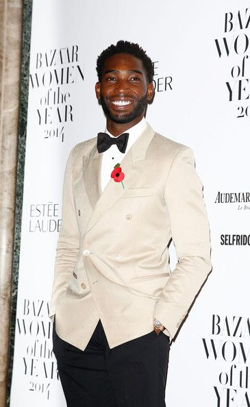 Tinie Tempah at the Harper's Bazaar UK Women of the Year Awards  #suits