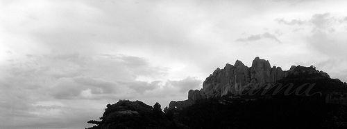 The eye of cloud #Montserrat mountain ♡