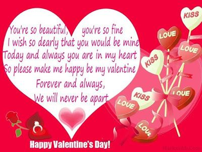 25 best ideas about Valentines messages for him – Romantic Valentine Card Sayings