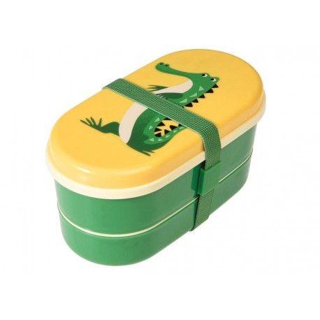 Met deze krokodil was lunchtijd nog nooit zo leuk! Deze vriend gaat overal mee naartoe en houdt de lunch lekker vers tot de middag. De bento box...