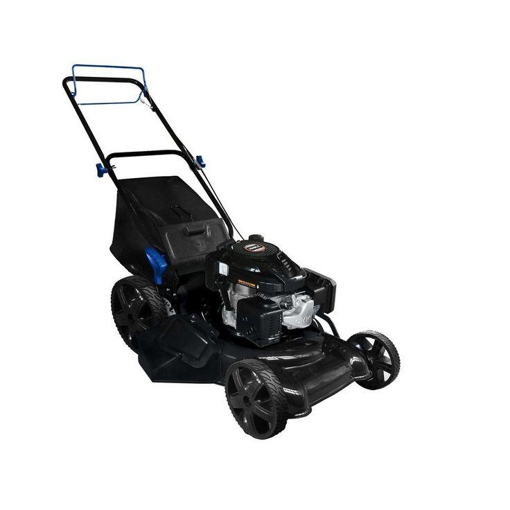 Lawn Mower Self Propelled Push Mower Gas Mulching Walk Behind Grass Catcher #AAVIX