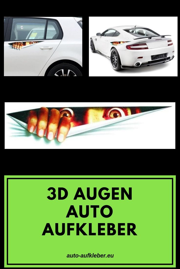 3d Augen Aufkleber Aufkleber Und Sticker Designs Auto