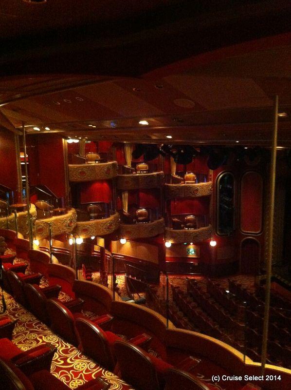 Cunard - Theatre - Aboard Queen Victoria