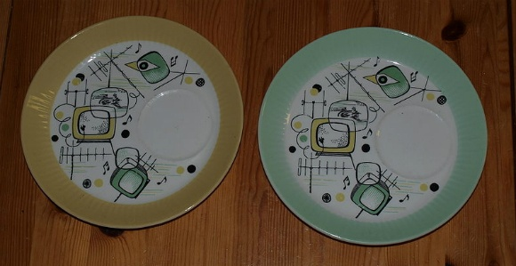 Figgjo - plates for TV-meal
