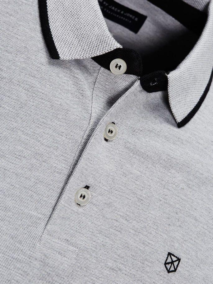 Image result for melange polo shirt