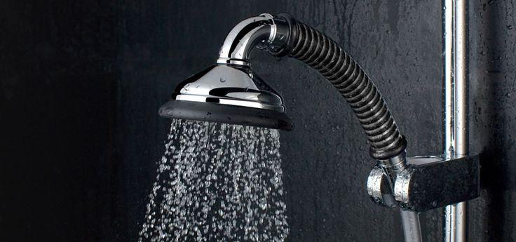 So schlau können Duschköpfe sein (Foto © Wolf Umwelttechnologie)