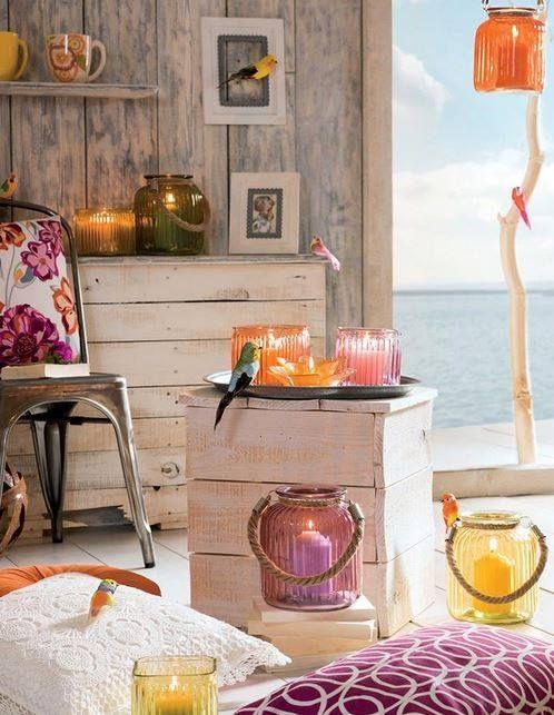 Pentru seri romantice de vara... #decoratiuni #gradina #kikaromania #accesorii