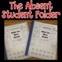 http://www.time4kindergarten.com/2015/03/bright-ideas-absent-student-folders.html