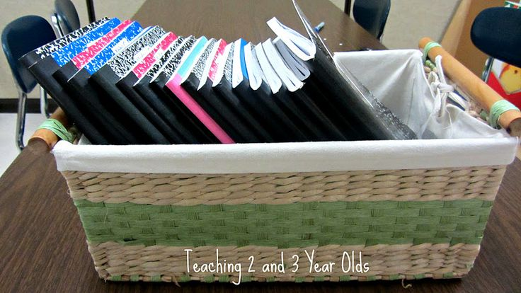 Teaching 2 and 3 Year Olds: Journals with 3 Year Olds  I may just have to try this next year.