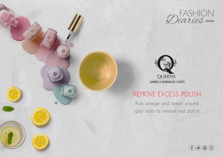 Go flaunt your beautiful nails.  #QueensEmporium #likeaqueen #FashionDiaries #tips