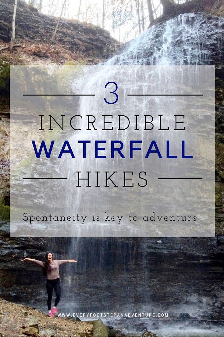 """Hamilton, Canada has stunning natural areas and even more gorgeous waterfalls. This city truly deserves its title of """"Waterfall Capital of the World"""". Here's a story of my three incredible experiences at Tiffany Falls and Sherman Falls. Let me convince you to make these places your next waterfall destinations!"""