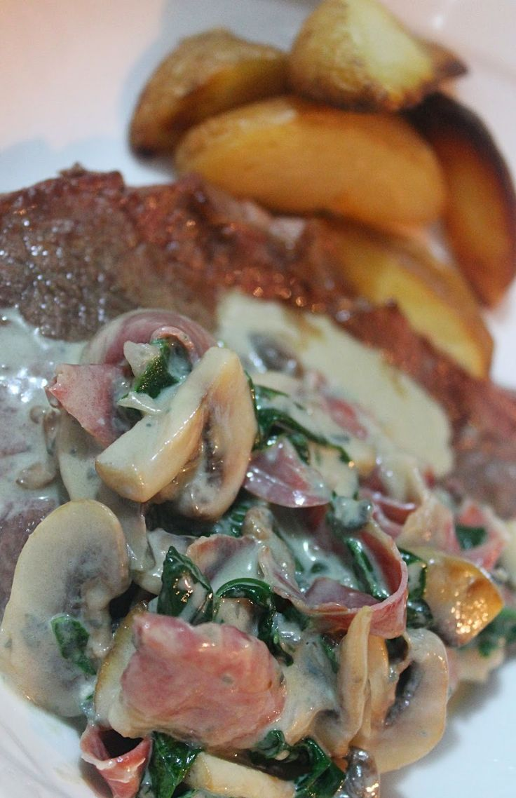 The love bagage: Gorgonzola saus