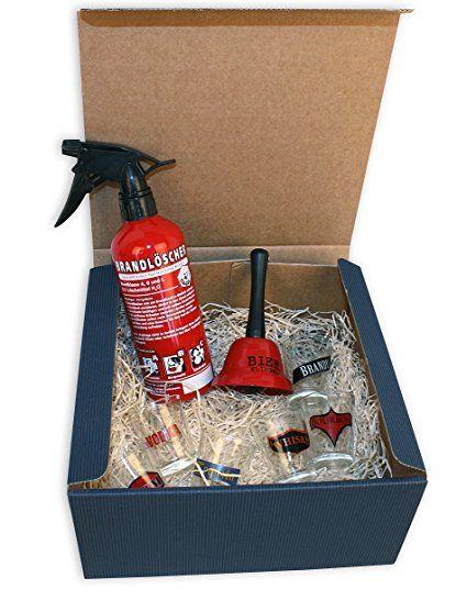 """Geschenkset """"Für richtige Männer"""" Das perfekte Geschenk für den Mann - Verschenkfertig in einer edlen Geschenkbox"""